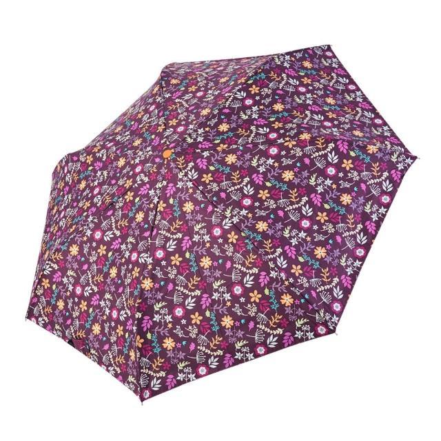 【rainstory】-8°降溫凍齡個人加大自動傘-紫戀花卉(遮光色膠系列)