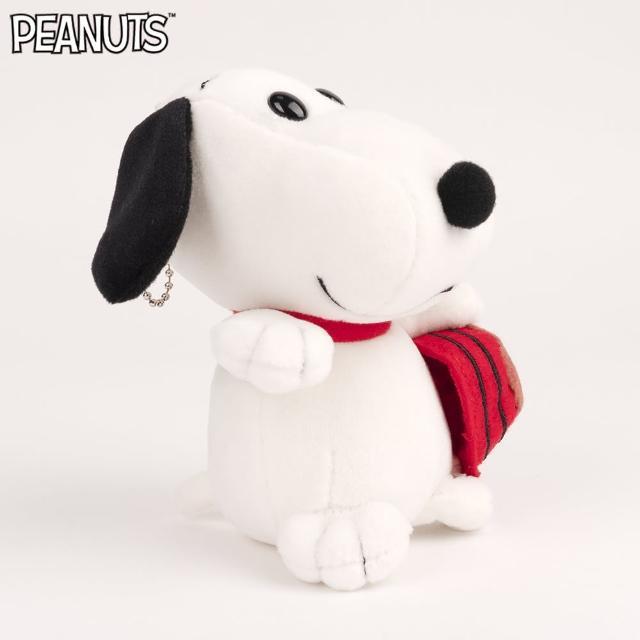 【SNOOPY 史努比】史努比QQ款玩偶-12公分(可當吊飾)