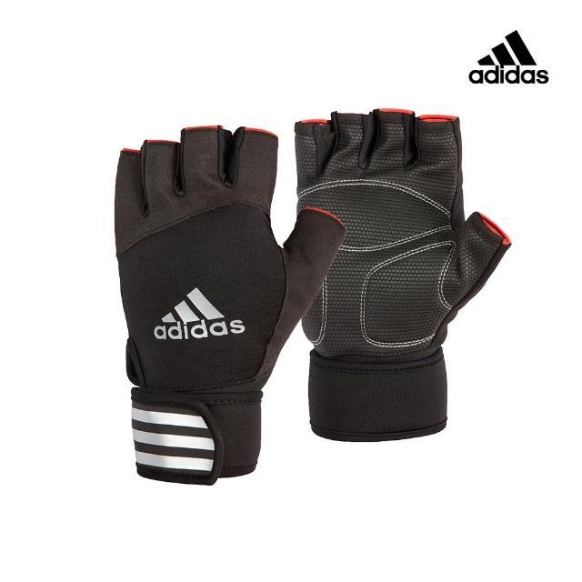【adidas 愛迪達】Training 進階加長防護手套-經典款(S-XL)