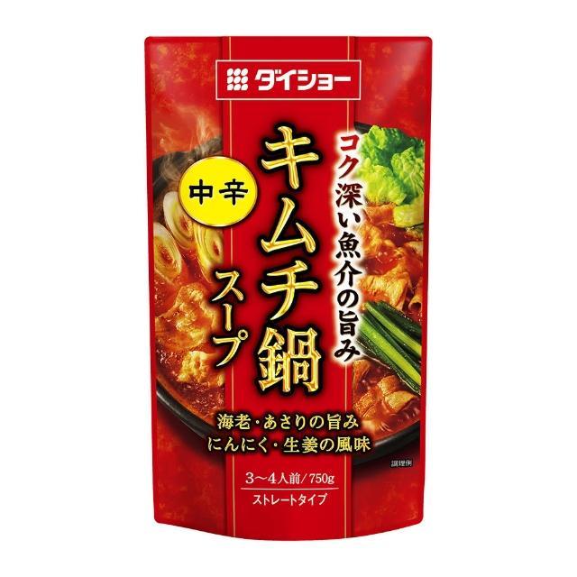 【大昌】大昌韓式泡菜風味火鍋湯(750g)