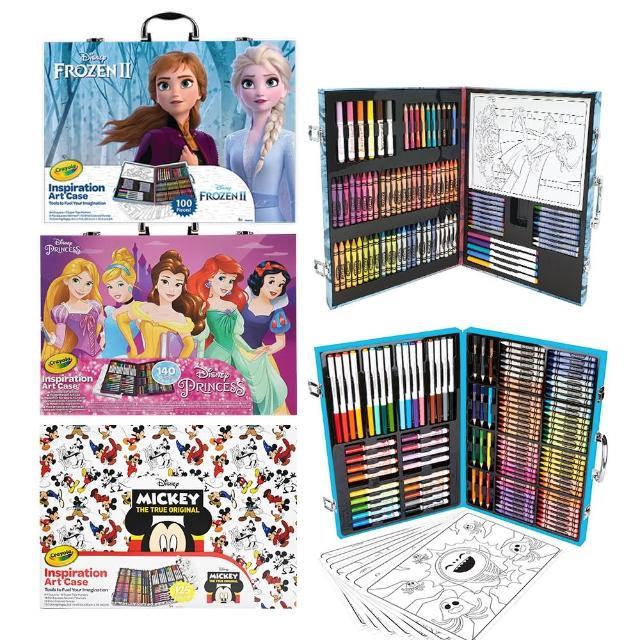 【crayola 繪兒樂】大藝術家精裝提盒組(多款可選)