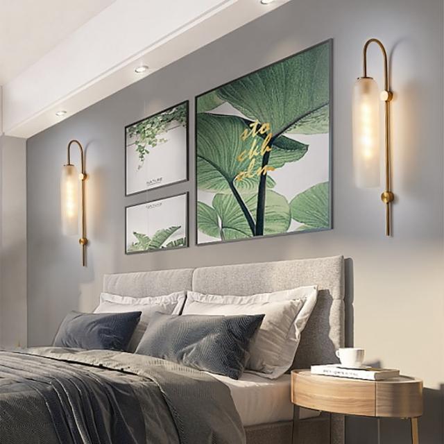【obis】琉璃光壁燈-兩色可選(贈測試光源)