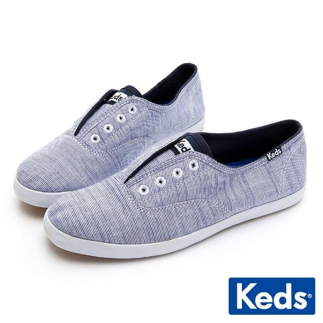 【Keds】CHILLAX 經典輕量休閒鞋(藍)