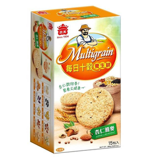 【義美】每日十穀養生餅-杏仁蕎麥285g