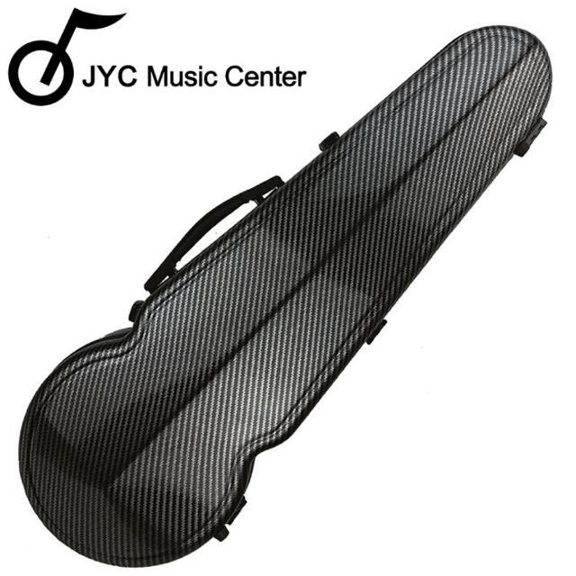 【JYC Music】JA-150中提琴盒15.5-16吋-彩繪英倫款/具備溼度計/羽量級複合材料(JA-150中提琴盒)