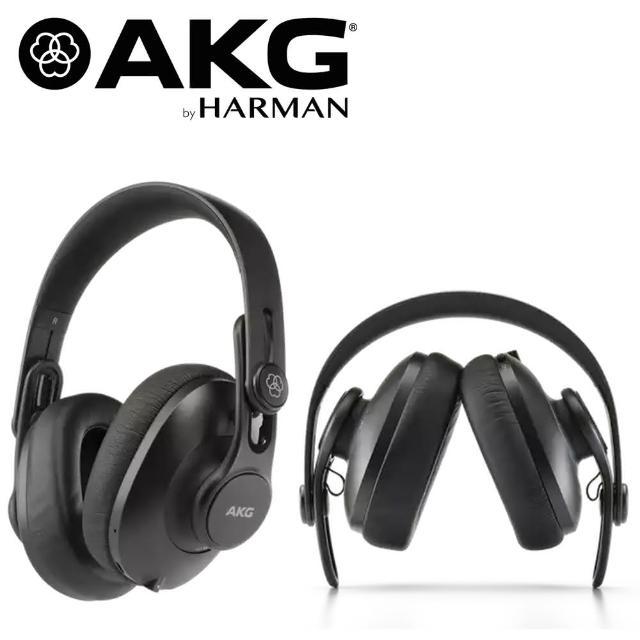 【AKG】K361BT 耳罩式 封閉式 可折疊錄音室耳機 藍牙耳機(公司貨原廠保固)