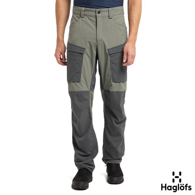 【Haglofs】男 Mid Fjord 防潑水 快乾長褲(白鯨灰/磁鐵色)