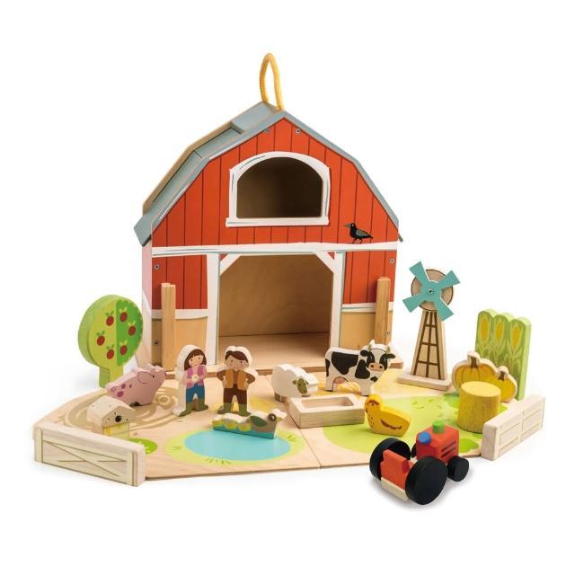 【Tender Leaf Toys】我的開心農場(積木益智遊戲)
