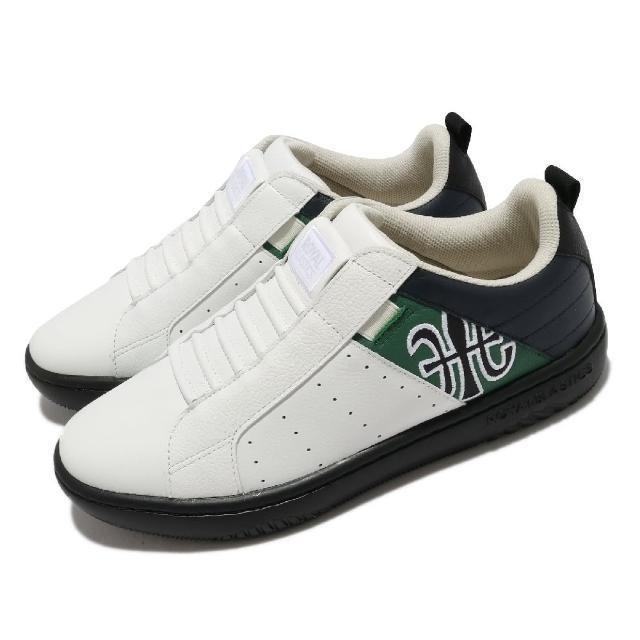 【ROYAL Elastics】休閒鞋 Icon 2.0 套腳 穿搭 男鞋 基本款 簡約 皮革 舒適 球鞋 白 黑(06512045)