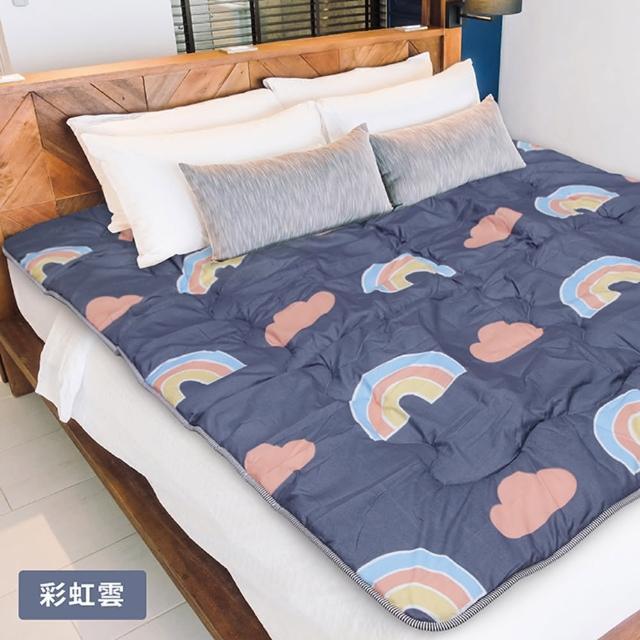【Victoria】鋪棉透氣日式折疊床墊(單人)