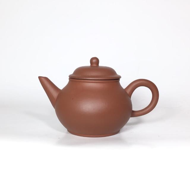 【創藝工坊】4杯線瓢 芭樂(早期土好 泥料佳 茶壺茶具 宜興紫砂壺)