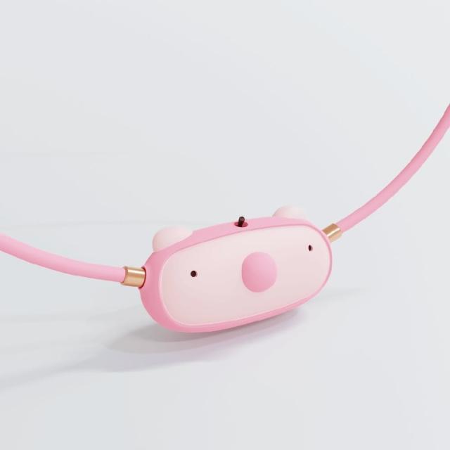 【ible】Airvida C1 兒童公仔款隨身空氣清淨機(小鴨黃/無尾熊灰/小豬粉三款 任選)