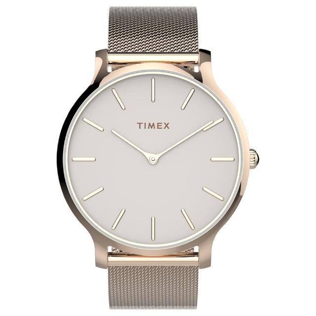 【TIMEX】天美時復刻系列耀眼金屬光手錶(TXTW2T73900)