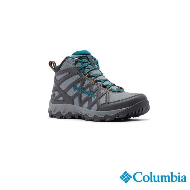 【Columbia 哥倫比亞】女款- Outdry 高筒健走鞋-深灰(UBL08280DY / 越野.運動.靴子)