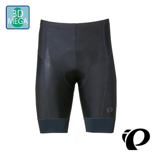 【PEARL iZUMi】230MEGA-3 20 極厚褲墊男短車褲 黑(涼感/抗UV/吸汗/透氣/單車/運動/自行車/日本製)