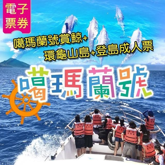 【噶瑪蘭號】賞鯨+環龜山島+登島成人票