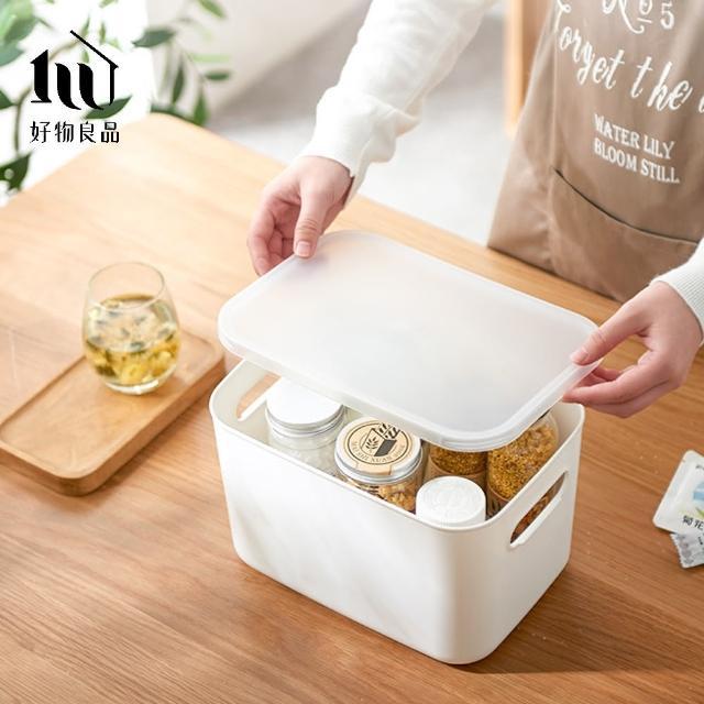 【好物良品】日式無印衣櫃/文具/雜物收納箱分類整理盒-小