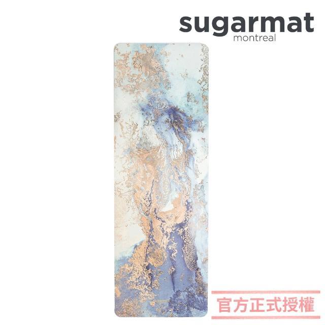 【加拿大Sugarmat】頂級加寬PU瑜珈墊 3.0mm 追夢者 Dream Catcher(藍色)