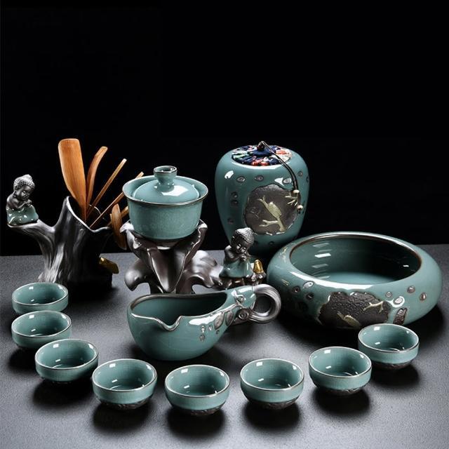 【Pure】沉思默想自動茶具13件組