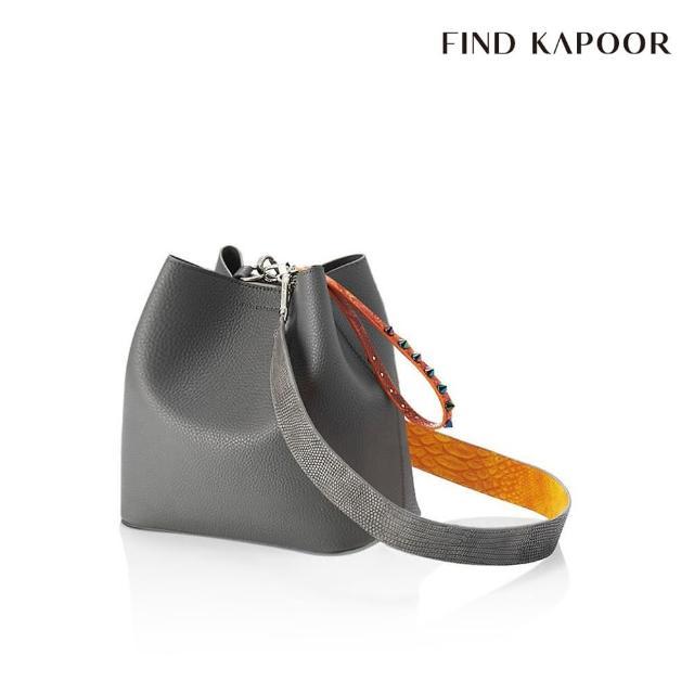 【FIND KAPOOR】PINGO 23 BASIC 系列 手提斜背水桶包- 大象灰
