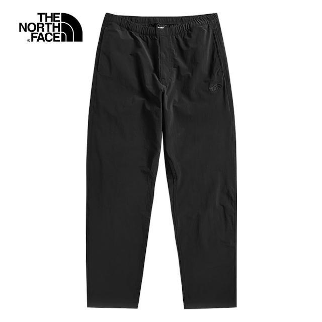 【The North Face】The North Face北面UE男款黑色舒適透氣戶休閒褲|4NEAJK3