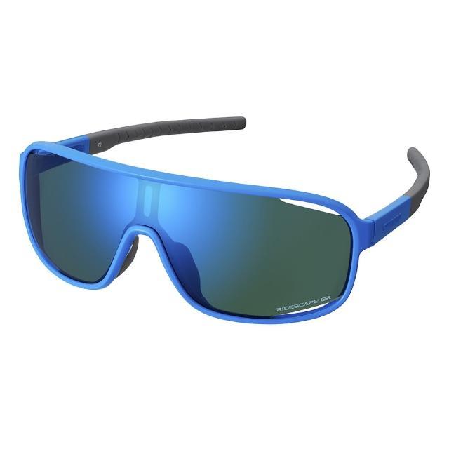 【SHIMANO】TECHNIUM RIDESCAPE GR 一片式太陽眼鏡 藍色