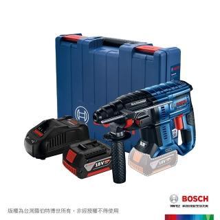 【BOSCH 博世】18V 無碳刷免出力鎚鑽 GBH 180-LI (6.0Ah x 1)