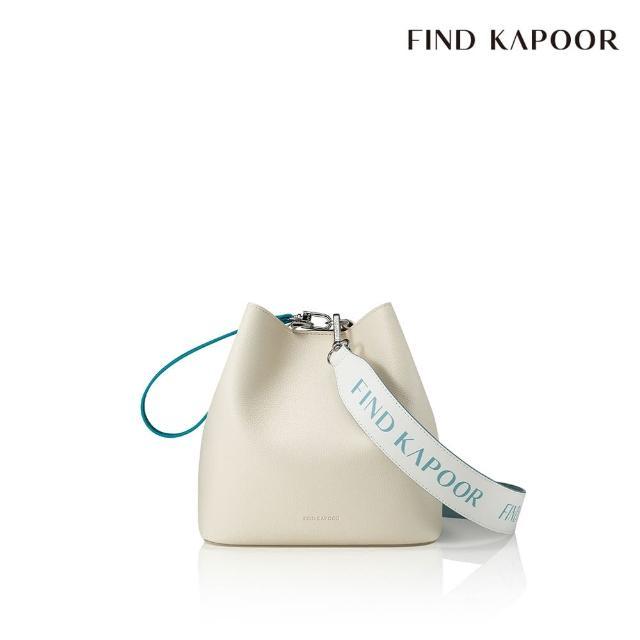 【FIND KAPOOR】PINGO 20 BASIC 字母系列 手提斜背水桶包- 灰色拼接