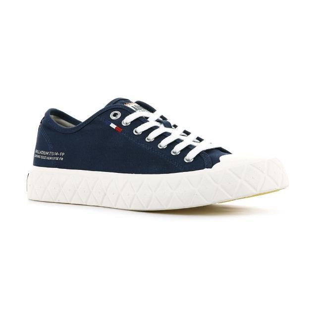 【Palladium】PALLA ACE CVS 藍色 男女款 黃膠底 餅乾鞋(77014458)
