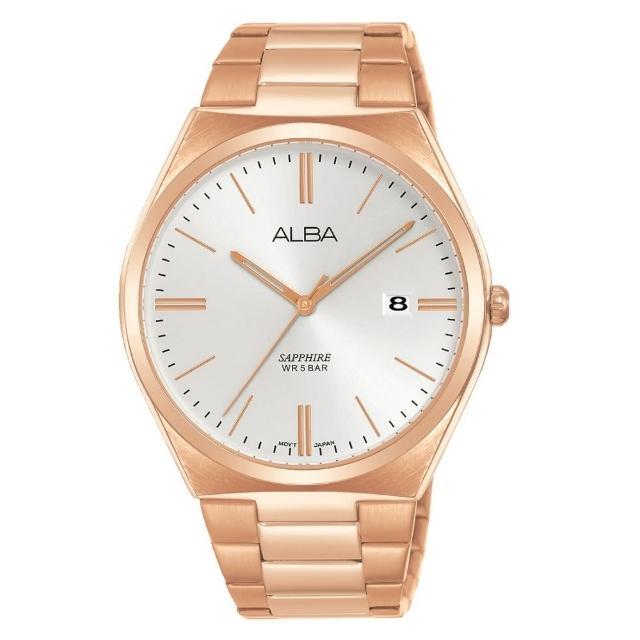 【ALBA】經典玫瑰金時尚腕錶(VJ42-X286K/AS9J60X1)
