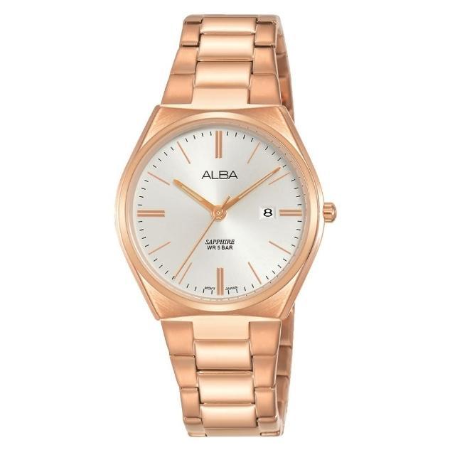 【ALBA】經典玫瑰金時尚腕錶(VJ22-X301K/AH7T36X1)