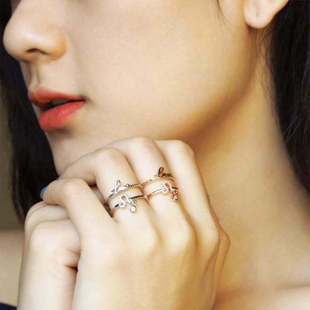 【GIE】玫瑰金星座戒指 五月限定感恩優惠(925純銀)