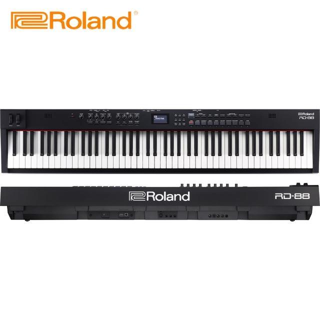 【ROLAND 樂蘭】RD88 舞台專用鍵盤鋼琴(台灣公司貨 商品保固有保障)