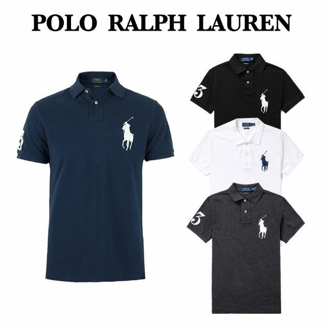 【RALPH LAUREN】Polo Ralph Lauren 年度熱銷經典刺繡大馬短袖Polo衫-多色款組合(熱銷精選 春夏必備款)
