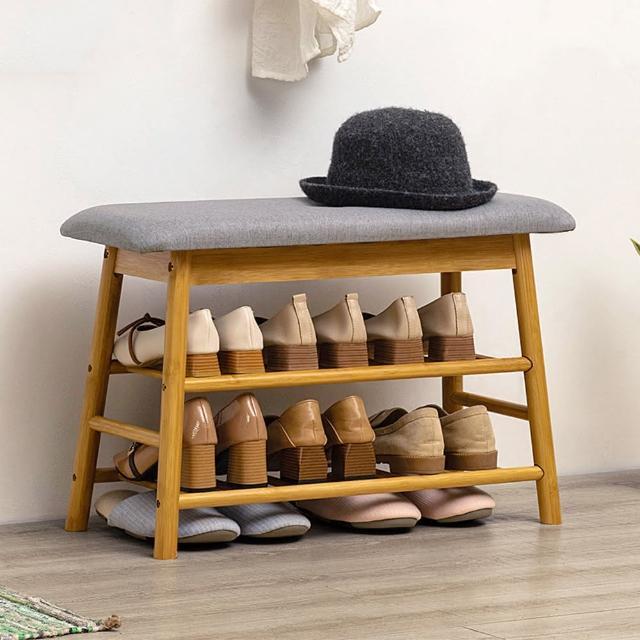 【HappyLife】北歐風多功能換鞋凳 寬70公分 Y10129(穿鞋椅 換鞋椅 開放式鞋架 鞋櫃 玄關鞋架 玄關收納)