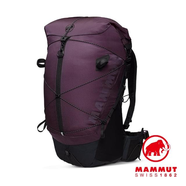 【Mammut 長毛象】Ducan Spine 28-35 輕量健行後背包 銀河紫/黑 #2530-00360