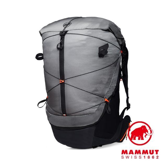 【Mammut 長毛象】Ducan Spine 50-60 輕量健行後背包 花崗岩灰 #2530-00380
