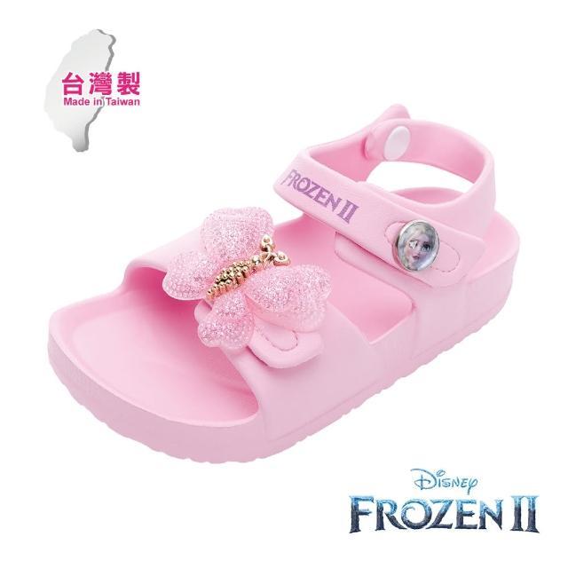 【Disney 迪士尼】冰雪奇緣2 休閒涼鞋 粉紅(FNKT14153正版授權)