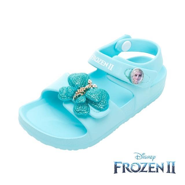 【Disney 迪士尼】冰雪奇緣2 閒涼鞋 水藍(FNKT14156正版授權)