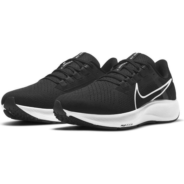 【NIKE 耐吉】慢跑鞋 男鞋 運動鞋 緩震 小飛馬 AIR ZOOM PEGASUS 38黑 CW7356-002