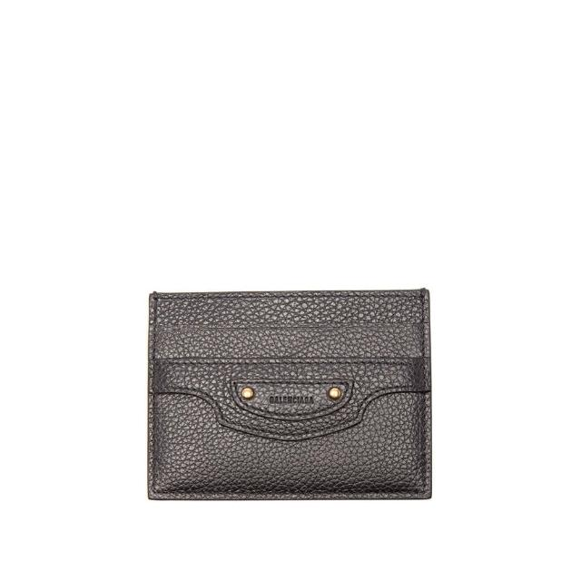 【Balenciaga 巴黎世家】新款 經典NEO CLASSIC 經典金屬防刮牛皮卡片夾 名片夾(證件名片夾 信用卡夾)