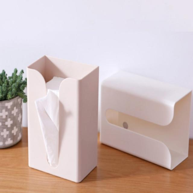 【AOTTO】多功能創意收納紙巾盒(衛生紙盒 收納盒 整理盒)