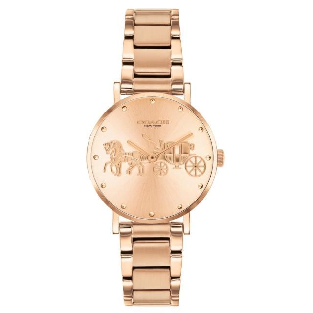 【COACH】經典小馬車時尚腕錶28mm(14503793)