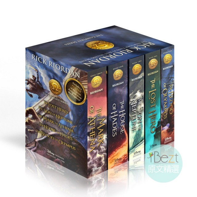 【iBezT】The Heroes of Olympus Boxed Set(「亞馬遜網路書店」2007年最佳圖書獎)