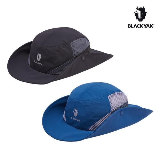 【BLACK YAK】SUPPLEX 透氣圓盤帽[藍色/黑色]BYAB1NAG01(韓國春夏 圓盤帽 中性款)