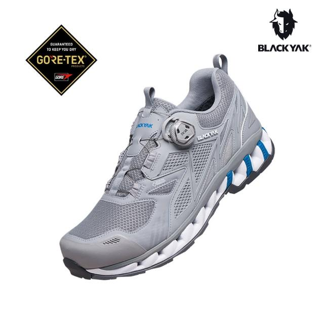 【BLACK YAK】男 CRUSH WAVE GTX 防水健行鞋[灰色](韓國 登山 多功能鞋 防水鞋 登山鞋 健行鞋 男款)