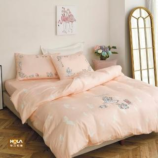 【HOLA】迪士尼系列公主天絲刺繡床被三件組單人-白雪公主