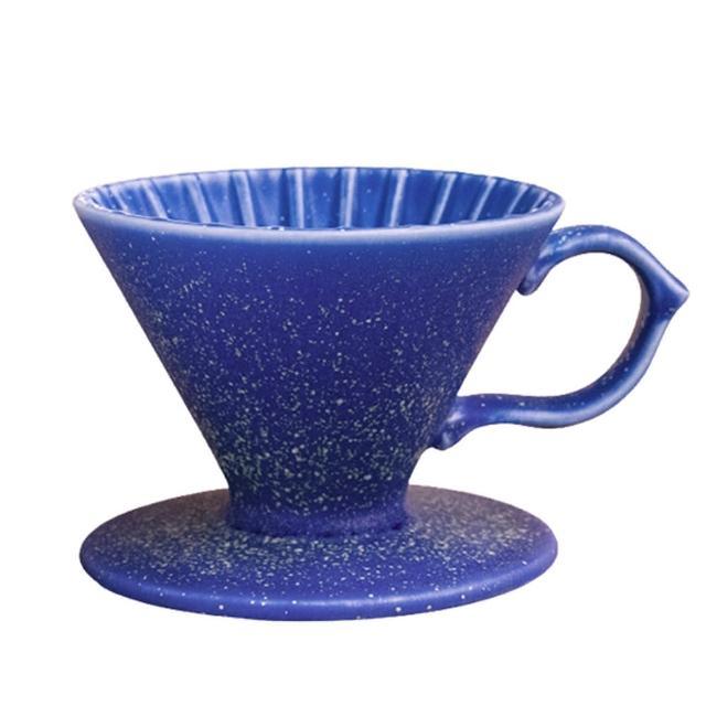 【Tiamo】原礦手作濾杯V01 - 星海藍(HG5531BL)