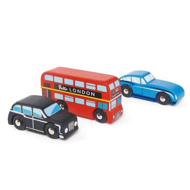 【Tender Leaf Toys】英倫車組(倫敦經典車款)