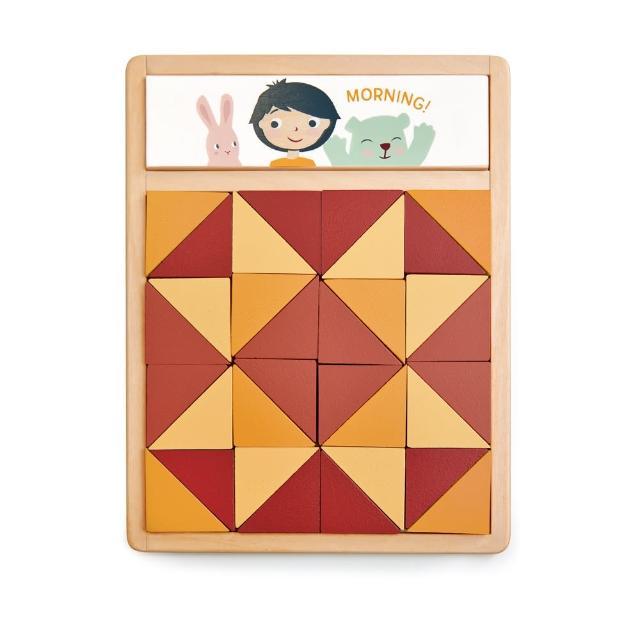 【Tender Leaf Toys】神奇趣味拼圖(35件積木組合配件)